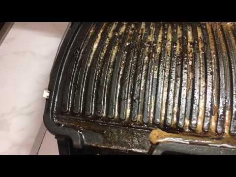 Как очистить гриль от нагара