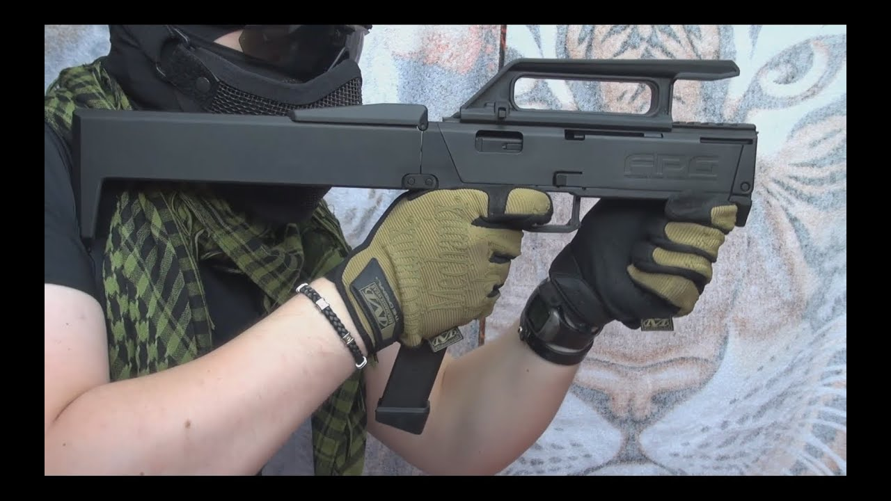 airsoft fpg magpul kwa replica of the fmg 9 magpul youtube