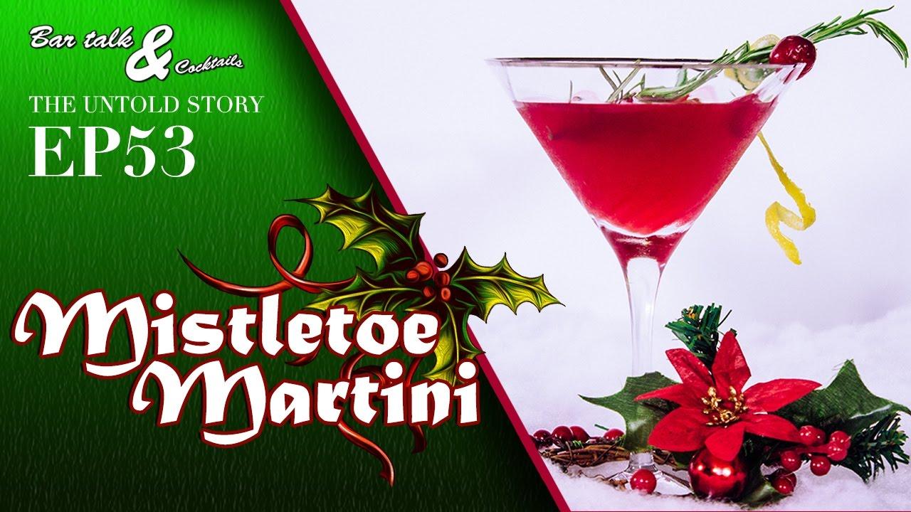 how to make a mistletoe martini christmas cocktails youtube. Black Bedroom Furniture Sets. Home Design Ideas