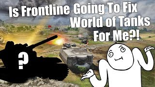 WoT || Playing Frontline After 2 Months Of Not Playing World of Tanks... || (My Honest Opinion)