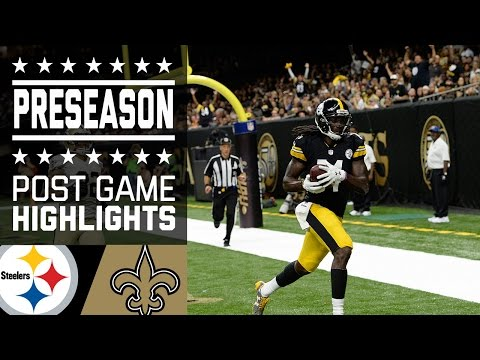 Steelers vs. Saints | Game Highlights | NFL