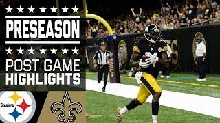 Steelers vs. Saints | Game Highlights | NFL