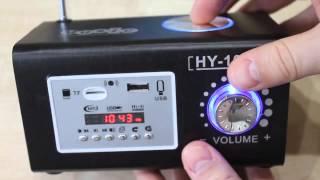 Портативная акустика (колонка) на аккумуляторе | Обзор USB, MicroSD, AUX-IN, FM-проигрывател