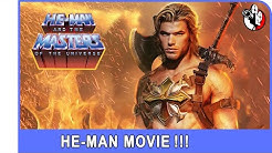 He-Man Official Movie current rumored actors 2020 / 2021?