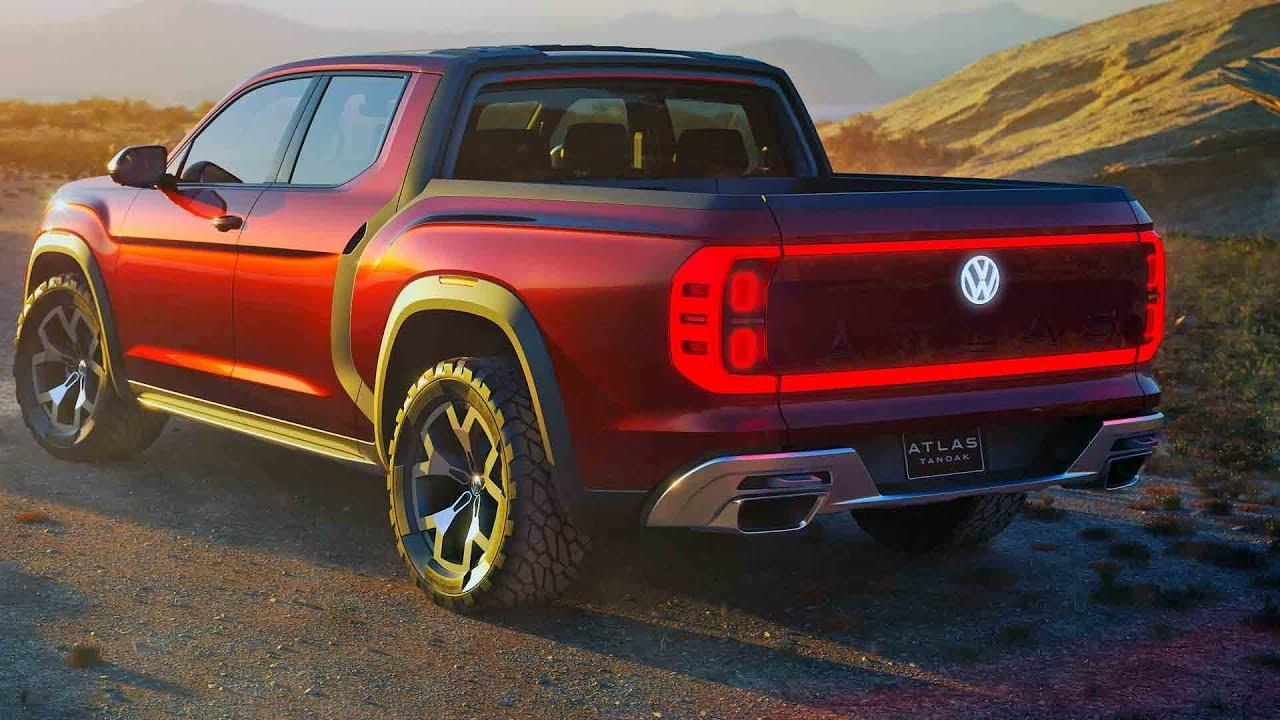 Volkswagen Atlas Tanoak – Pickup Truck Concept