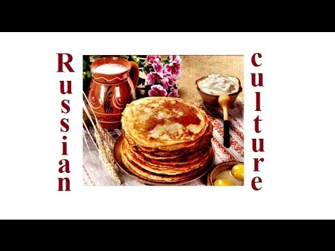 Russian culture and traditions. Masljenitsya. Pancakes