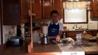Almond Milk & Blueberry Smoothie