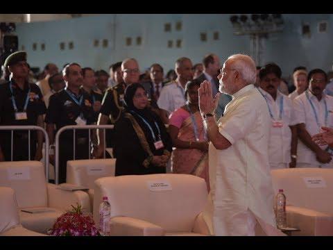 PM Shri Narendra Modi inaugurates Defence Expo 2018 in Mahabalipuram, Tamil Nadu