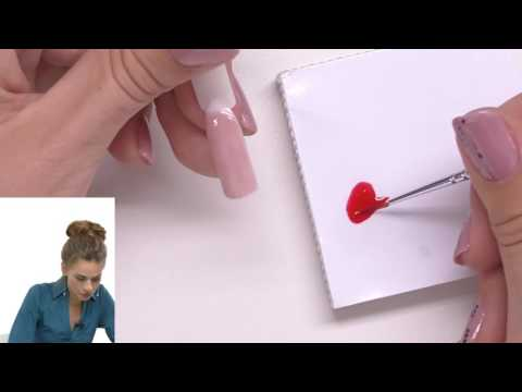 видео: Рисуем «улыбку» на типсе