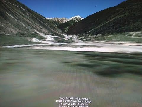 Как смотреть рельеф в Google Earth