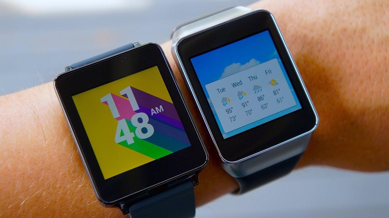 LG G Watch vs Samsung Gear Live: Android Wear Smartwatch ...