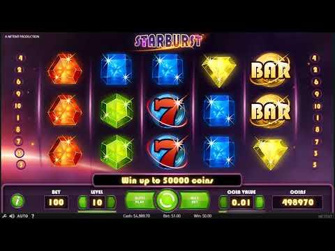 Игровой Автомат Starburst  - Обзор от SlotsKit