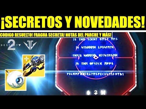 Destiny 2 - Código Resuelto! Secretos de Forja! Nuevo Leak! Exóticos de Aurora! Todos los Cambios! thumbnail