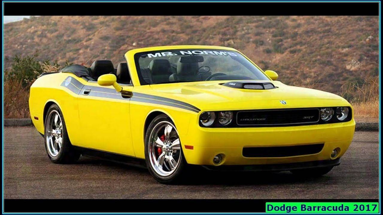 Dodge Barracuda 2017 Convertible Price Reviews
