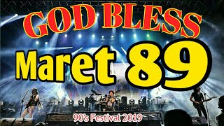 "Download GOD BLESS Soundcheck  ""Maret 89"" 90's Festival"