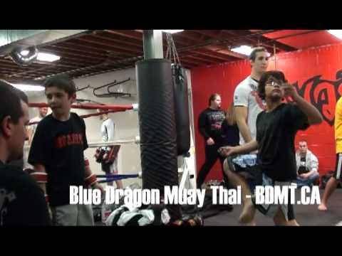 Blue Dragon Muay Thai - Rory MacDonald Seminar 2012