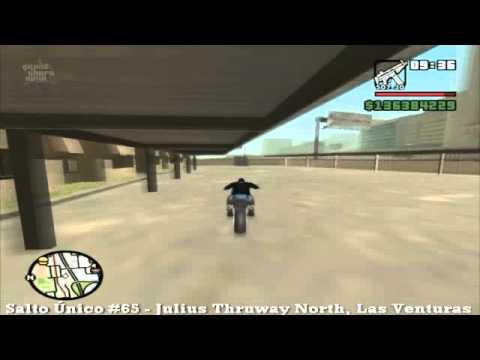 GTA San Andreas – Salto Único #65 Julius Threway North, Las Venturas – MQ