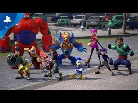 KINGDOM HEARTS III – TGS Big Hero 6 Trailer | PS4