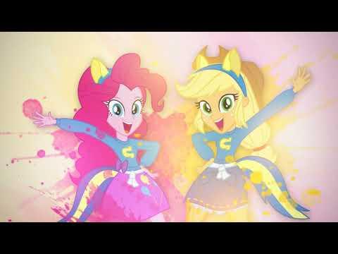 'Don't Stop Shaking Things Up' - Applejack ft Pinkie Pie [MLP:EqG Mashup]