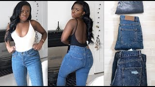 AFFORDABLE ASOS JEANS TRY-ON HAUL | REVIEW