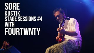 SOREKUSTIK STAGE SESSION #4 Fourtwnty - Sementara Live At Resital Jalanan Salatiga