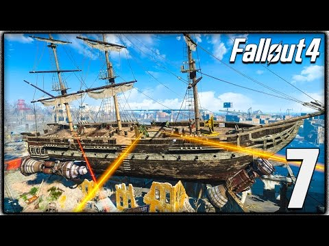 Fallout 4 Gameplay - USS Constitution, Vault 95 & More Exploration! (Let's Play #7)