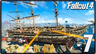 Fallout 4 Gameplay - USS Constitution, Brotherhood of Steel & More Exploration! (Let