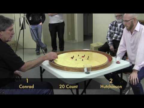 Crokinole 2016 Hamilton Final - Conrad v Hutchinson