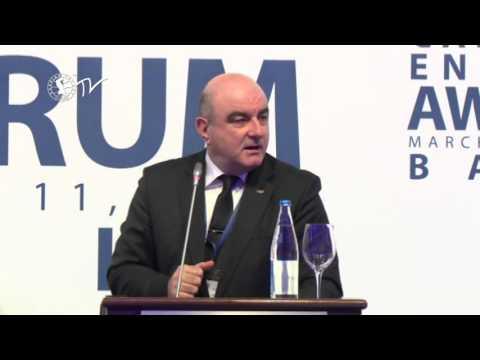 Cemal Yangın - Caspian Energy Forum - Baku 2015-az