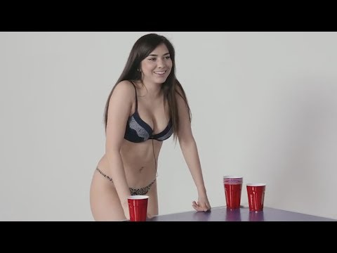 Strangers Play Beer Pong Naked With Dares - FEAR PONG (Gone DIRTY) thumbnail