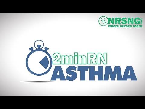Asthma | Nursing Care For Asthma Patient In 2 Minutes