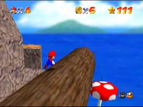 Mario 64 - Blast To The Lonely Mushroom (no cannon)