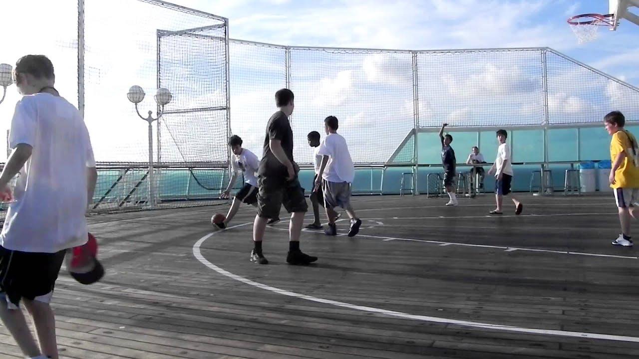 Royal Caribbean Ship Majesty Of The Seas Basketball Court