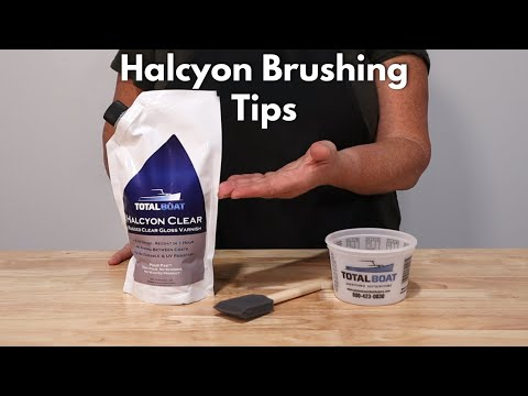 Halcyon Brushing Tips