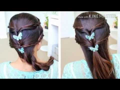 Eid Special Simple Hairstyle Ideas Youtube