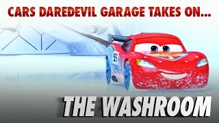 Disney Pixar Cars | The Die-cast Series Ep. 2 | Takes on the Washroom