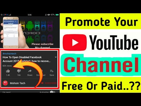 How To Promote Your Youtube Channel Free 100% Work | Gain Many Subscribers Quickly 2019