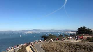 Blue Angels -San Francisco - Golden Gate Bridge -10/12/14