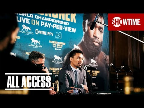 ALL ACCESS: Pacquiao vs. Broner | Premieres Jan. 4 on SHOWTIME