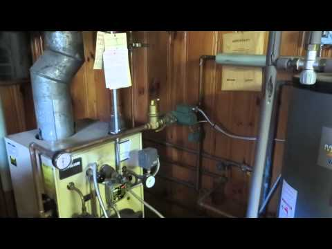 Heating system: 35 Howe Road, Needham MA
