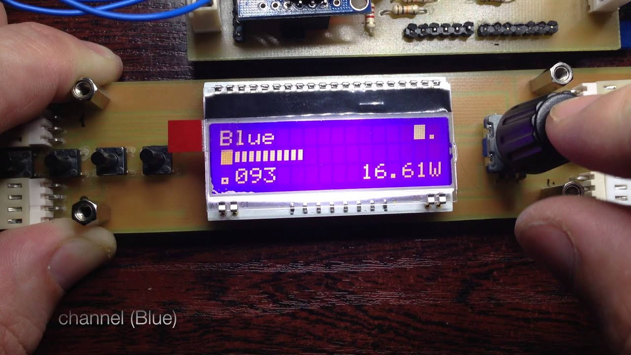 Diy Reef Led Controller By Nbinc Circuit 1w X 3 3w X1 Dc Driver Http