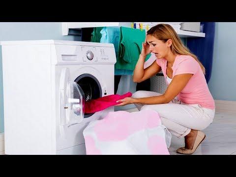 Как отстирать полинявшую вещь в домашних условиях