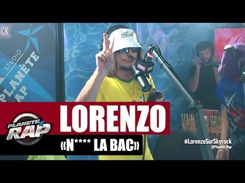 Youtube: Lorenzo«N**** la BAC» #PlanèteRap