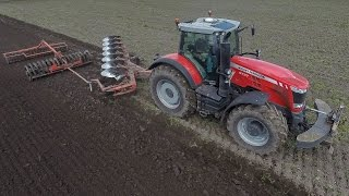 *NEW* Massey Ferguson 8737 Dyna VT + Kuhn 7 Furrow On-Land | 400 HP