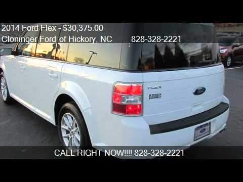 Cloninger Ford Hickory Nc >> 2014 Ford Flex SE for sale in Hickory, NC 28602 at Cloninger - YouTube