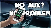 How to Add AUX to an Old Car Stereo for $2 - YouTube