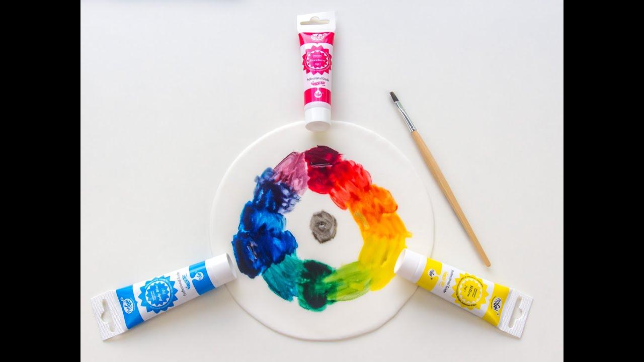 Farbenlehre farben mischen farbschemata und farbwirkung youtube - Farben mischen tabelle ...