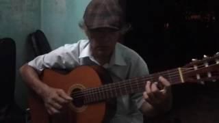 Guitar hạ trắng by Dũng hội an