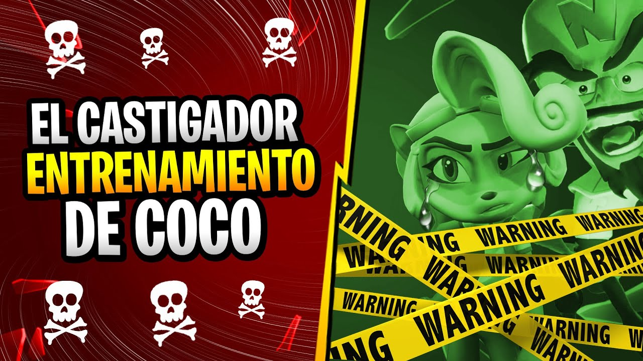 CRASH BANDICOOT 4 ITS ABOUT TIME | LAS CASTIGADORAS PRUEBAS DE COCO EN FLASHBACK | PARTE 2