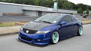 07 Honda Civic SI Bagged #burnout